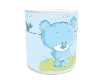 Cute teddy mug