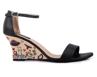 """Wearmates - """"Everything a Girl Wants"""" Wedges"""