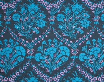 Amy Butler Love Paradise Garden Periwinkle Fabric by 1 yard