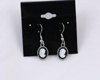 Silhouette Earrings - Silver