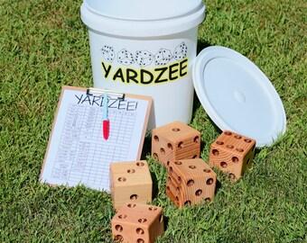 Yardzee 0utdoor Yard Dice Game