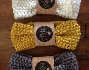 Baby Winter knitted headbands