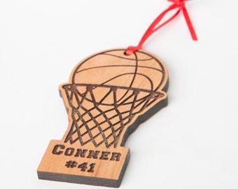 Basketball Christmas Ornaments