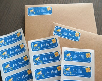 Air mail summers - 30 stickers