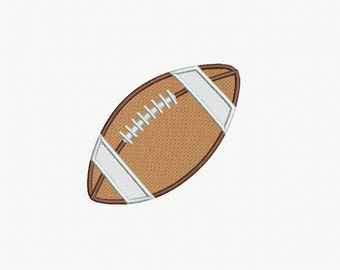Football Applique Machine Embroidery Design - 3 Sizes