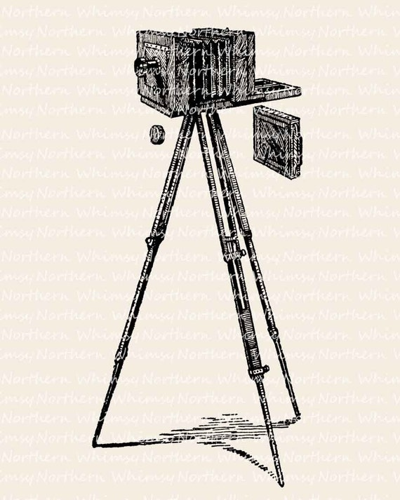 Camera Clip Art – Bellows Camera Clip Art – Antique Camera ...