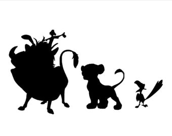 Lion King Wall Decal Etsy - Lion king nursery wall decals