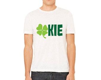 OKLAHOMA Shamrock OKIE TShirt St. Patricks Day Shirt Pinch Proof MENS Shirt