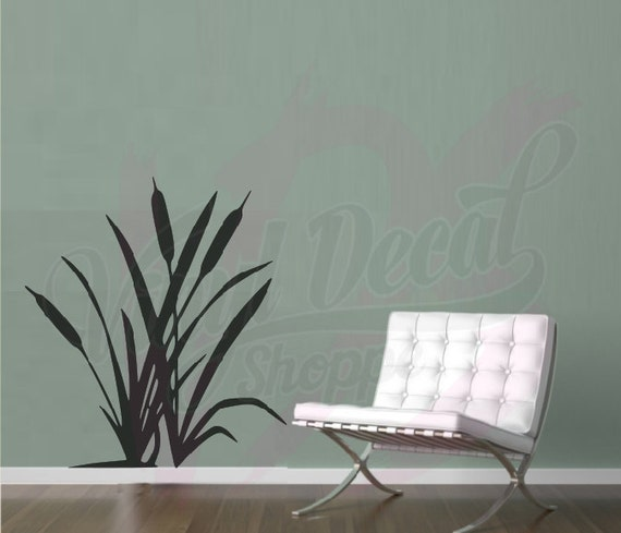... Cats Tail Wall Decal, Nature Scene Wall Decal, Large Wall Decal, Wall  Decal