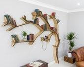 The Windswept Oak Tree Bookshelf
