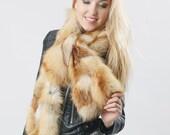 Wonderful real fur scarf from fox
