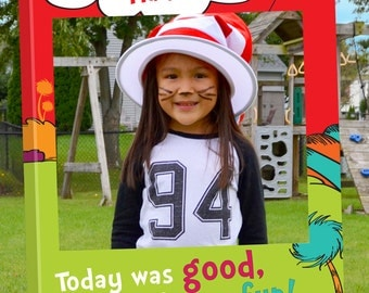 Children's Book Photo Booth. Party Prop Frame. Digital file only