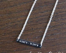 Rose Gold Bar Necklace Bridesmaid Gift Jewelry Wedding Party  Bridal Party Gifts  Initial Letter Thanks for Being My Unbiological Sister