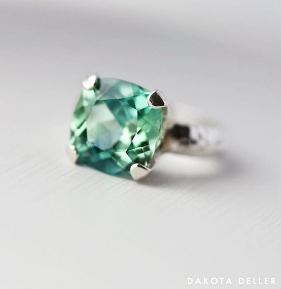 Items Similar To Paraiba Tourmaline Ring Tourmaline