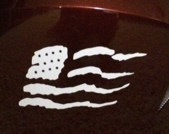 American Flag Die Cut Vinyl Decal