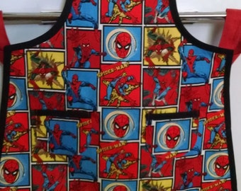 Boys Spiderman Apron Boys Apron Marvel Spiderman
