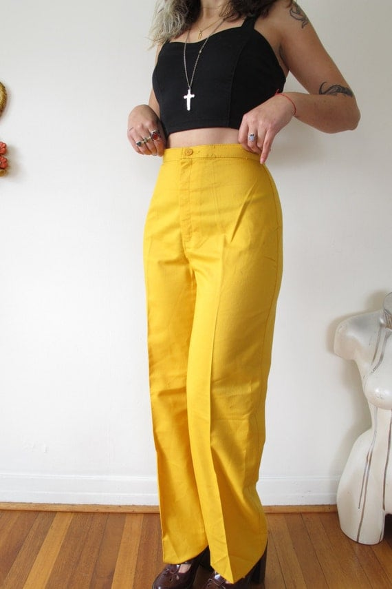 Luxury 22 Luxury Mustard Pants Women U2013 Playzoa.com