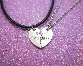 Best Witches - BFF - Best Friends - Choker OR Necklace!