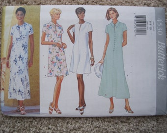 UNCUT Misses Dress - McCalls Pattern 4530