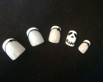 Jack Skellington False Nail Set