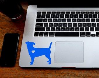 SUMMER SALE! Jack Russell Terrier Sticker Jack Russell Decal iPhone Car Laptop Vinyl Decal Sticker