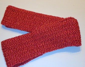 Shades of Pink and Orange Infinity Scarf