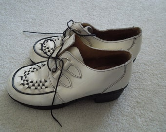 SALE 90s Creeper Underground Punk Shoes