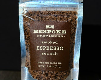 Smoked Espresso Sea Salt - pack size
