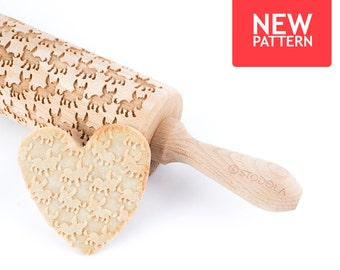 how to use an embossed rolling pin