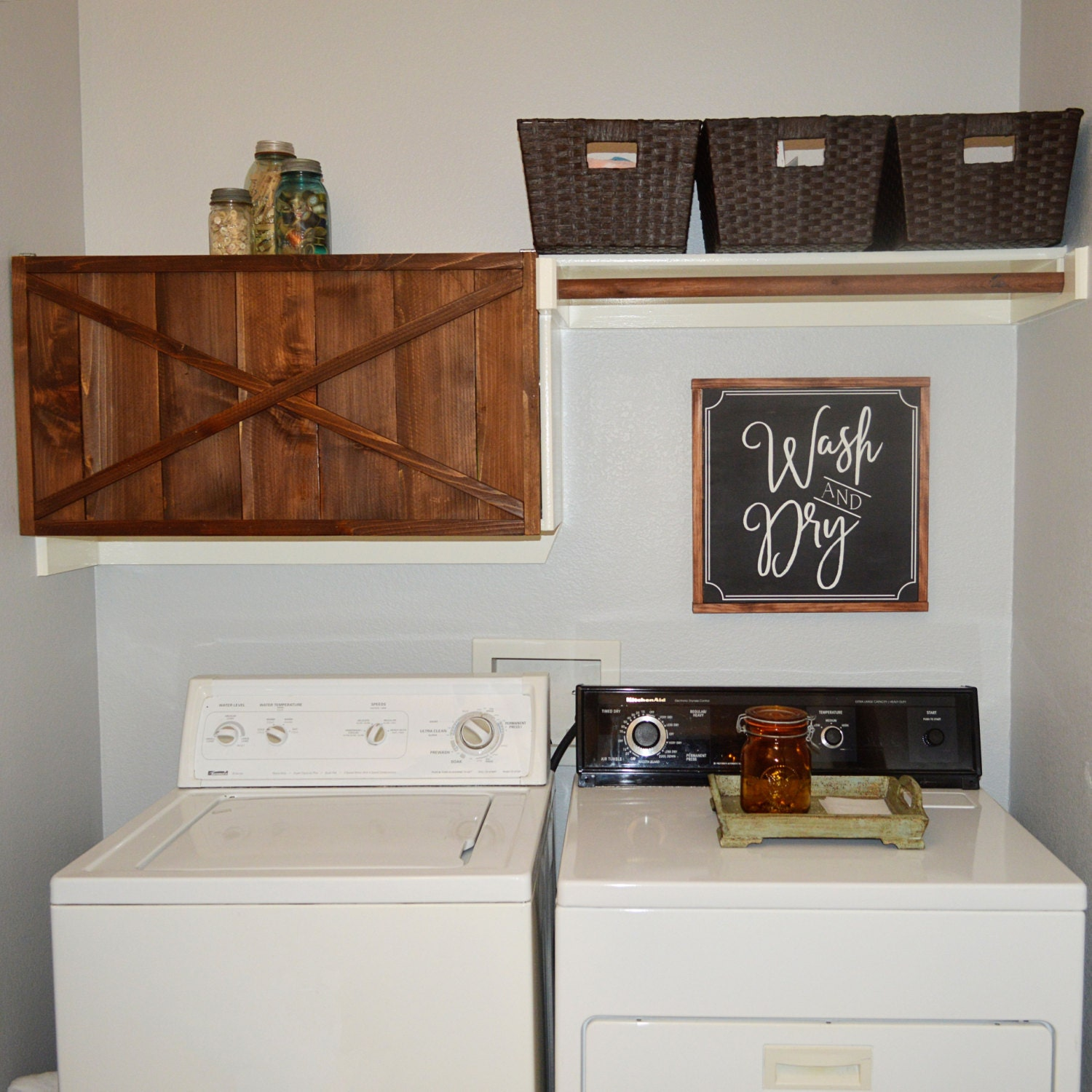 Joanna Gaines Home Decor Inspiration: Wash And Dry Joanna Gaines Inspired Laundry Room Decor Fixer