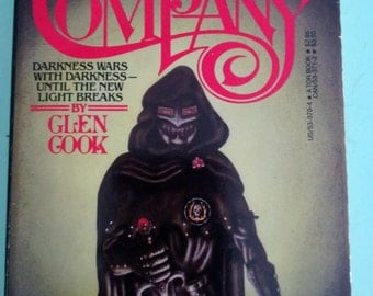 The Black Company by Glen Cook 1984 Paperback Free Shipping