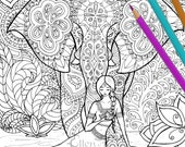 Coloring Page - Indian Dream