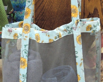 Screen Beach or Market Bag tote. breathable