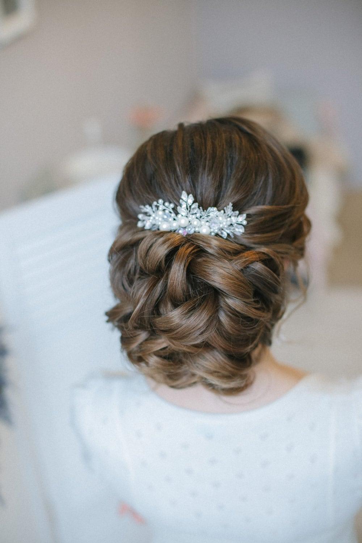 Bridal Head Piece Bridal Hair Piece Bridal Hair Comb Wedding