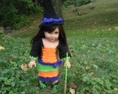 American Girl Crocheted Witch Costume