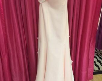 Sherbet Strapless Bridal Gown