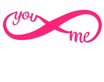 You and Me Vinyl Decal