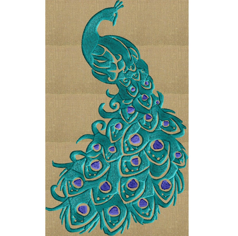 peacock embroidery designs dress wwwimgkidcom the