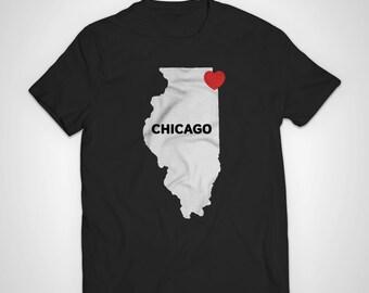 Chicago Love American Apparel T-Shirt