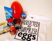 Kids Surprise Egg Filled with 3 Surprise Blind Bags & 3 Surprise Eggs, 1 Funny T-shirt - Paw Patrol Toy, Disney Toys, Cars Toys, Gift