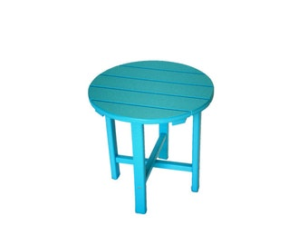 Side Table for Casual and Classic Style Adirondack Chairs
