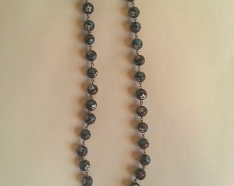 1970s / 80s Cloissone Beaded Necklace
