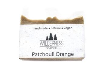 Patchouli Orange Soap, Natural Soap, Vegan Soap, Handmade Soap, Cold Process Soap