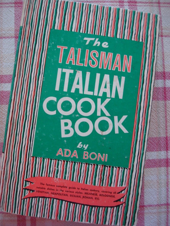 Vintage Italian Cookbook pub. 1955 - 166.4KB