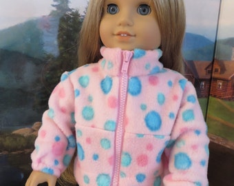 18 Inch Doll Clothes - Fleece Jacket
