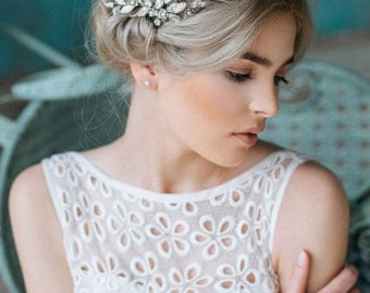 SALE- Bridal Headpiece, Wedding Hairpiece,Rhinestone Haircomb,  Bridal Hair Comb, Wedding Hair Accessories - NEW COLLECTION
