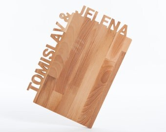 Bridesmaid Gifts - Personalized Cutting Board