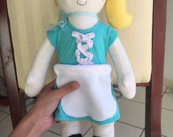 Custom made rag doll