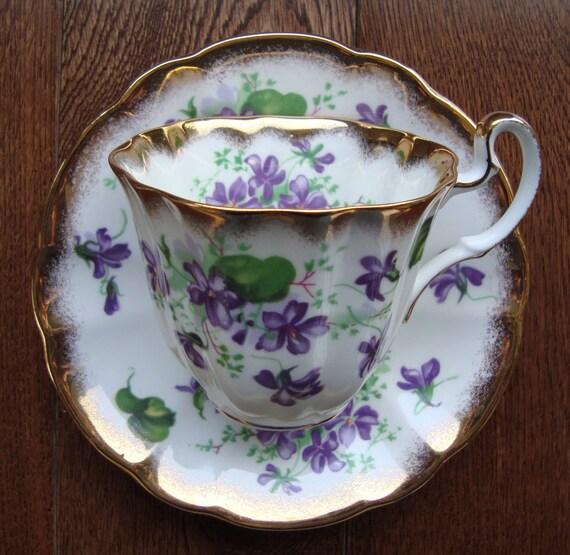 Royal Adderley Fine Bone China England Vintage Tea Cup And