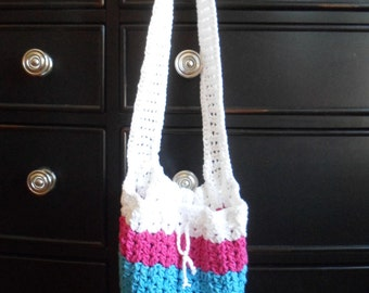 Tote Bag, Swim Bag, Crochet Tote Bag, Crochet Beach Bag, Cotton Tote Bag, Beach Bag Tote, Kids Tote Bag, Handmade Bags, Shoulder Bag